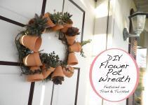 Tried Twisted Diy Flower Pot Wreath