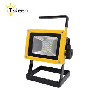 Tsleen Waterproof 30w Led Flood Light Portable Spotlight