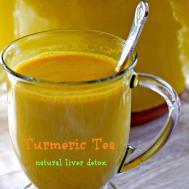 Turmeric Tea Natural Liver Detox Only Gluten Recipes