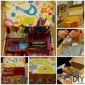 Turn Your Old Shoe Box Into Stationary Organizer