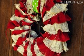 Tutorial Diy Christmas Wreath