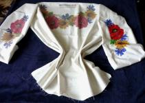Ukrainian Vyshyvanka Beaded Embroidery Pattern Blouse