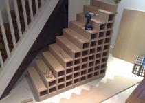 Under Stairs Shelves Interior Design Ideas