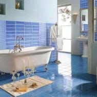 Unique Gray Blue Bathroom Ideas Small