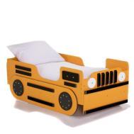 Unique Kid Boys Bed Bulldozer Shape Design Idea