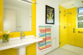 Unique Old Yellow Tile Bathroom Ideas Design