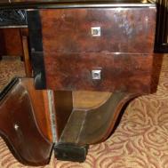 Unique Symmetrical Art Deco Desk French Style Sale