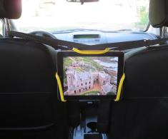 Universal Tablet Holder Design Car Rear Seat