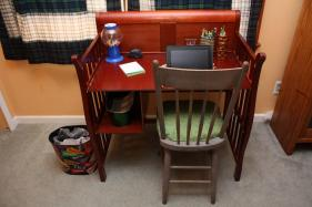 Upcycle Baby Changing Table Desk Eve Reduction