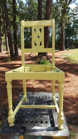 Upcycle Broken Chair Into Planter Diy Home