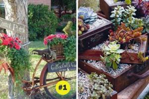 Upcycle Ideas Garden Planters