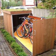 Upgrading Bike Storage Possibilities Modern Outdoor