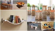Useful Creative Diy Interior Furniture Ideas