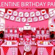 Valentine Birthday Party Ideas B131