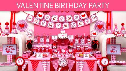 Valentine Birthday Party Ideas B131