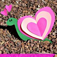 Valentine Day Heart Shaped Animal Crafts Kids