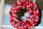 Valentine Day Ideas Charming Ribbon Wreaths Adorn