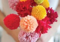 Valentine Diy Pom Flower Bouquet Quirk Books