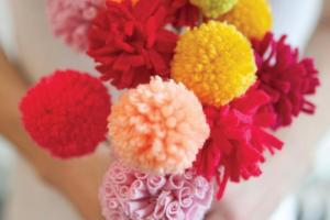 Valentine Diy Pom Flower Bouquet Quirk Books