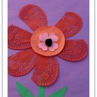 Valentine Ideas Flower Craft Kids