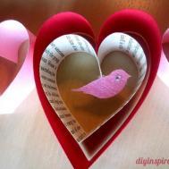 Valentines Day Craft Diy Garland Inspired