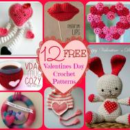 Valentines Day Crochet Patterns Pune Dore Centro