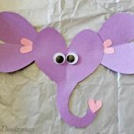 Valentines Day Elephant Craft Kids Toilet Paper Roll