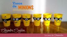 Vasos Minions Diy Party Cups Doovi