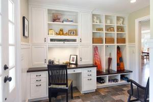 Versatile Mudrooms Double Home Workspaces