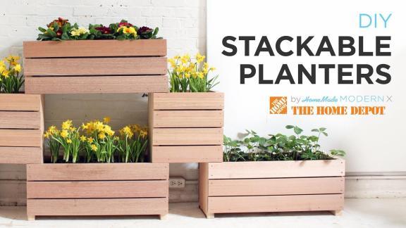 Vertical Garden Made Diy Stackable Planters
