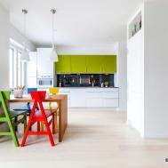 Vibrant Colourful Interior Design Finnish