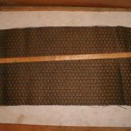 Vintage Antique Speaker Grille Cloth Fabric Radio