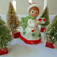 Vintage Christmas Decorations Recent Garage Sale Finds