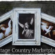 Vintage Country Style Farm Chippy Frames Diy