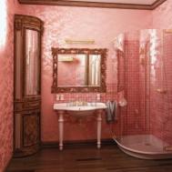 Vintage Pink Bathroom Tile Ideas