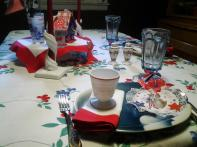 Virginia Retro 4th July Vintage Tablescape Stuff