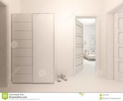 Visualization Interior Design Hall Studio