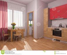 Visualization Interior Design Kitchen Studio