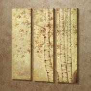 Wall Art Ideas Design Fall Leaves Wooden