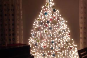 Wall Christmas Tree Simple Modern Life