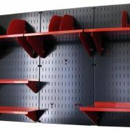 Wall Control Black Panel Home Office Organizer Kit