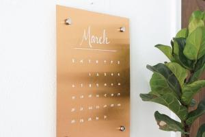 Wall Copper Message Board