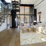 Warehouse Penthouse Loft Blends Modern New York Old