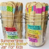 Washi Tape Summer Boredom Buster Jars While Napping