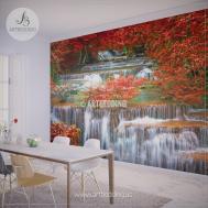 Waterfall Wall Mural Deep Forest Jungle