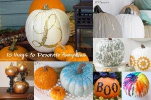 Ways Decorate Pumpkin Without Carving Rae Rose