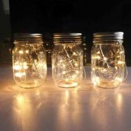 Wedding Table Mason Jar Centerpieces Siudy