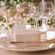 White Christmas Decorating