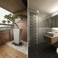 White Wood Bathroom Interior Design Ideas