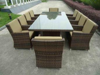 Wicker High End Outdoor Furniture Treat Wooden